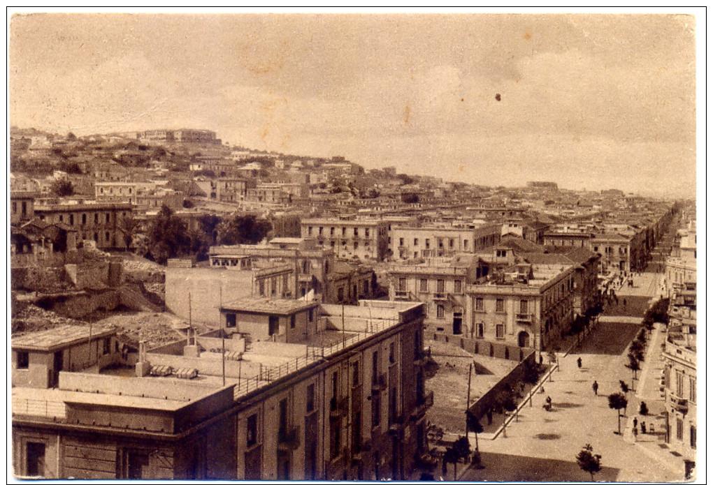 Anni '40, Reggio Calabria, Panorama, Palazzi In Costruzione, Animata - Reggio Calabria
