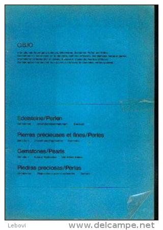 « CIBJO - Pierres Précieuses Et Fines/Perles  Définitions  Dispositions D'application - Sommaire » Ouvrage Quadrilingue - Jewels & Clocks