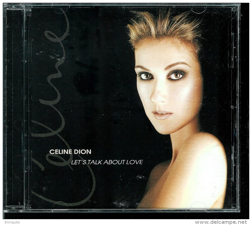 CELINE  DION  * LET'S TALK ABOUT LOVE  * DUETS WITH B. STREISNAD, L. PAVAROTTI, BEE GES - Disco & Pop