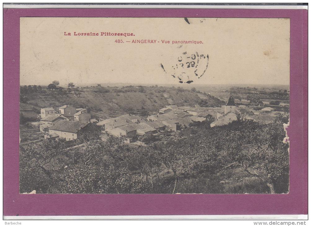 54.-  AINGERAY .- Vue Panoramique - France