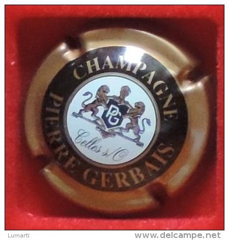 Capsule De Champagne - Pierre  Gerbais   - N°: 3 - Contour Marron Clair Sans Insc Sur Contour . - Germain