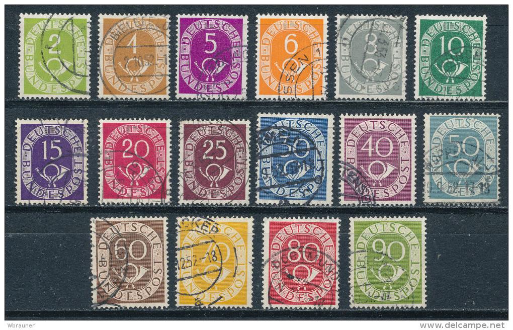 Bund 123/38 Gestempelt Mi. 50,- - [7] Repubblica Federale
