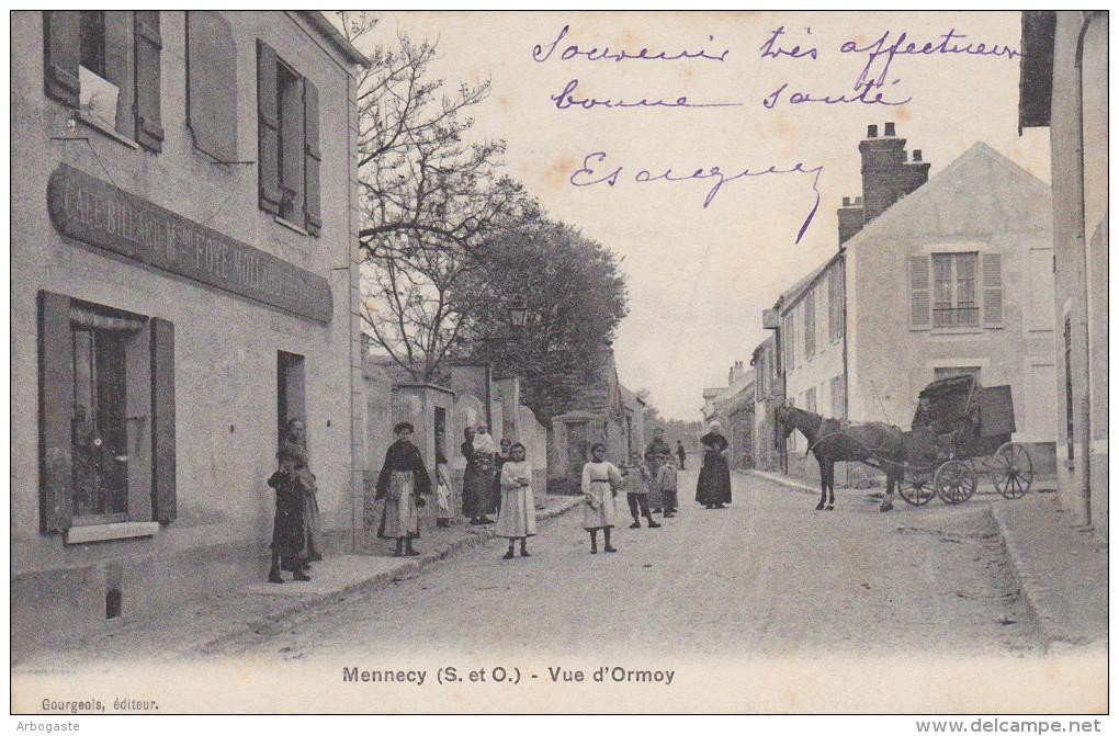 Mennecy(lot De 6 Cartes : 6 Scans) - Mennecy