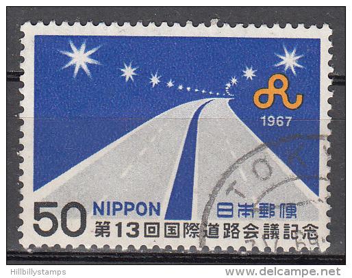 Japan   Scott No.  937  Used  Year  1967 - Gebruikt