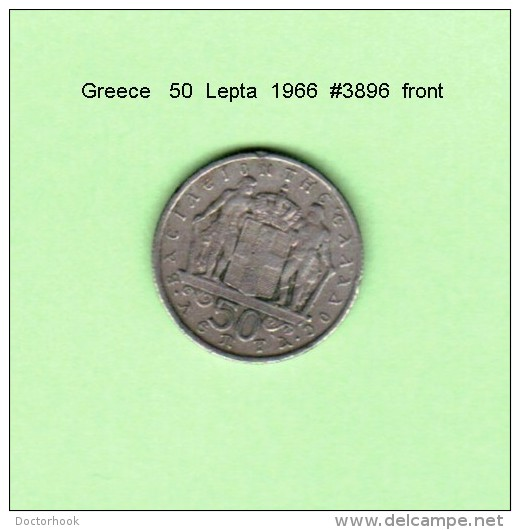 GREECE    50  LEPTA  1966   (KM # 88) - Griechenland