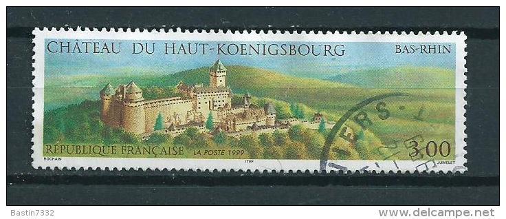 1999 France Haut Konigsbourg Used/gebruikt/oblitere - Frankrijk