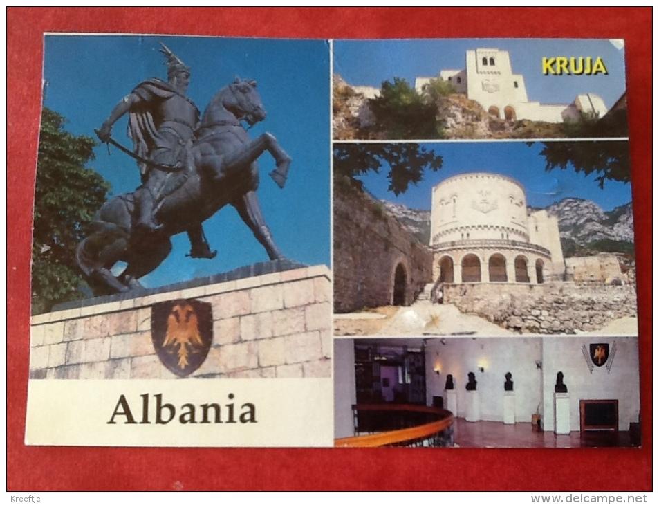 Albanië. Kruja. National Museum. Muzen Kombetar -> Belgique - Albanie