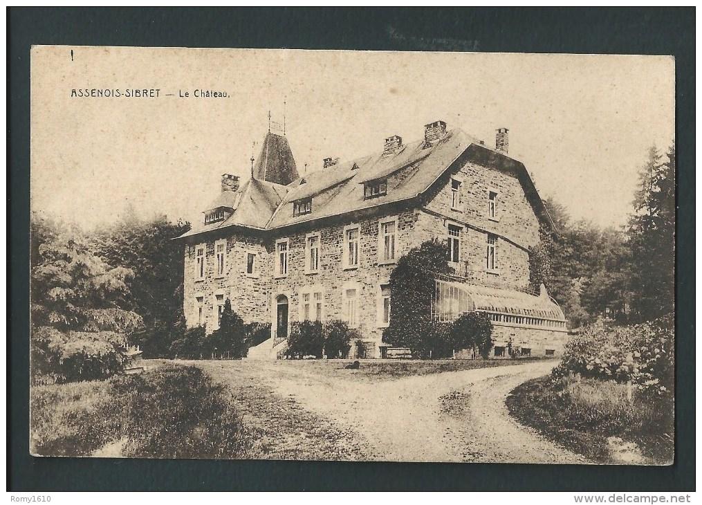 Assenois - Sibret. Le Château. - Vaux-sur-Sûre