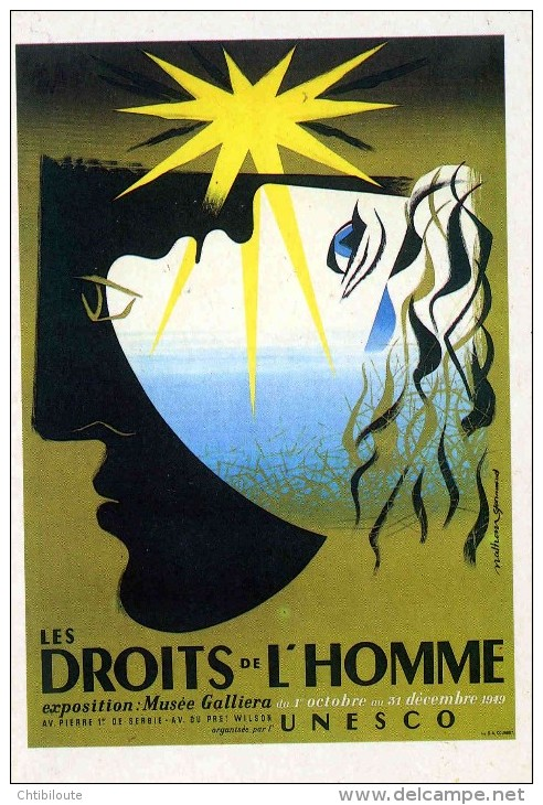 PUBLICITE  / DROIT DE L'HOMME       CPM / CPSM 10 X 15 NEUVE - Advertising