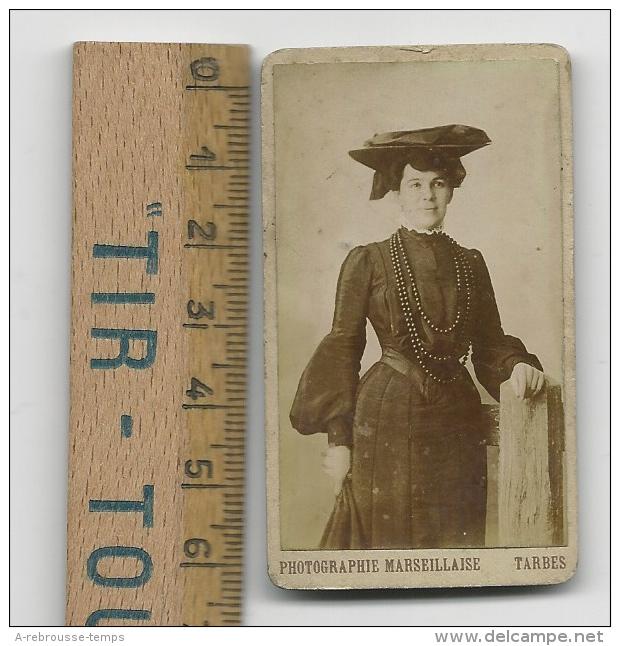 Petite Photographie D'une Femme élégante-photographie Marseillaise à Tarbes - Photographs