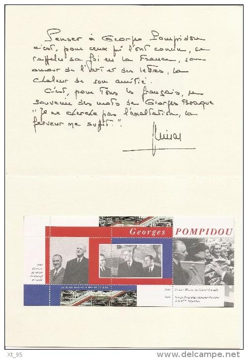 Pompidou - 20eme Anniversaire De La Disparition - Voir Scan - Unclassified