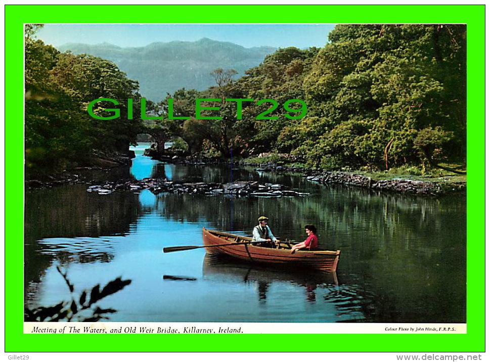 KILLARNEY, IRELAND - MEETING OF THE WATERS, AND OLD WEIR BRIDGE - ANIMATED - - PHOTO, JOHN HINDE - - Kerry