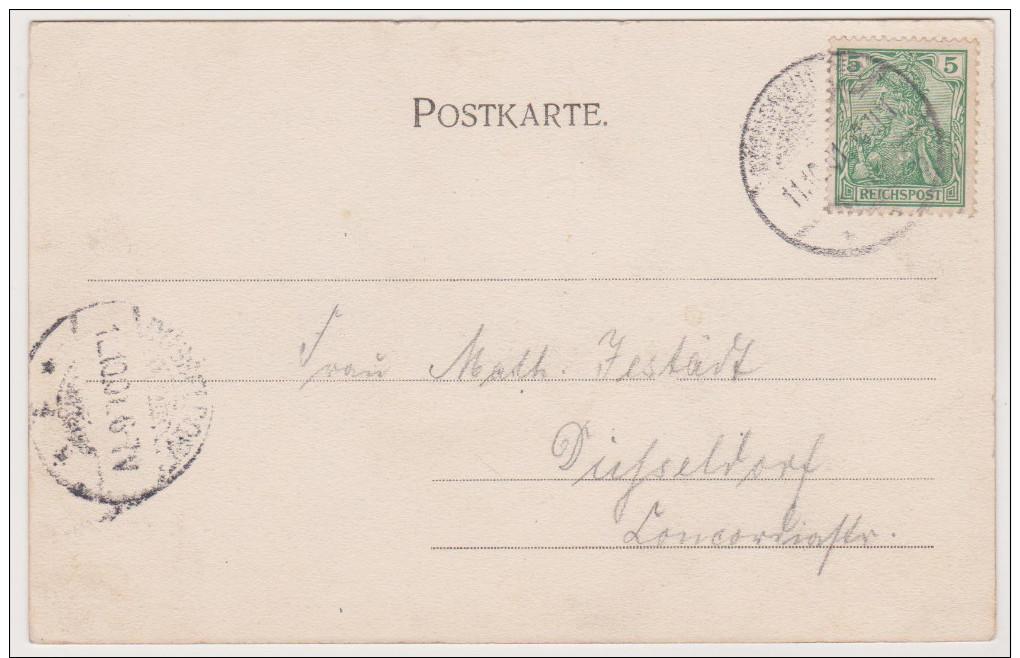 Königswinter, Drachenfels, Drachenburg, Postkarte, NRW - Koenigswinter