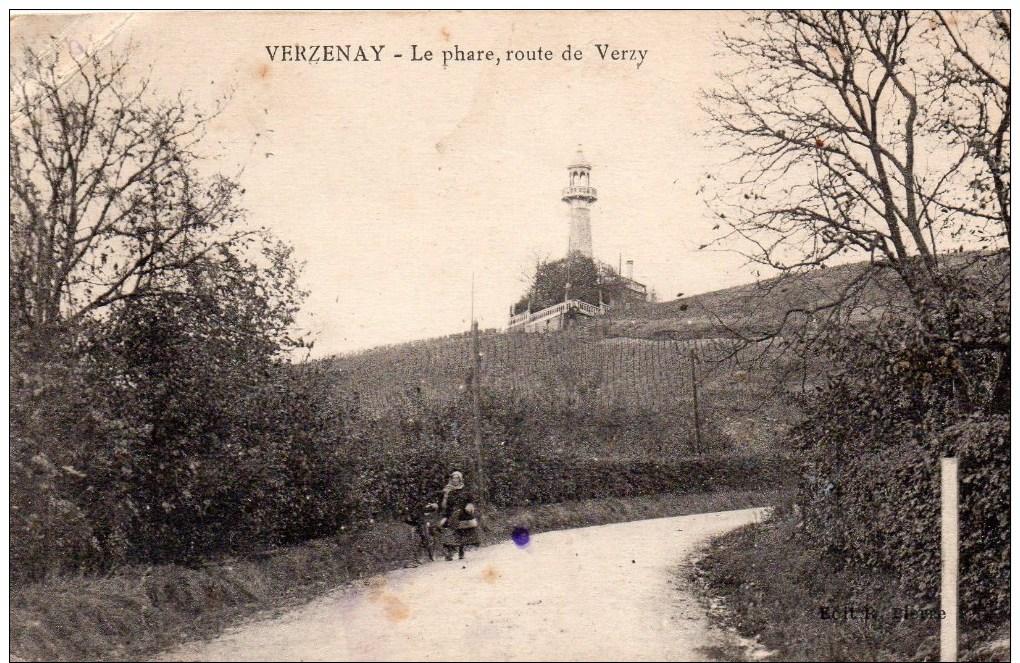 51  Verzenay,le Phare Route De Verzy - Autres Communes