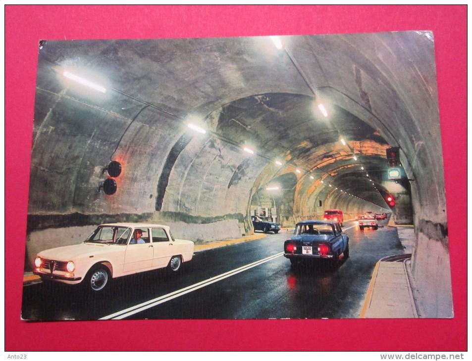 Courmayeur Entrèves Le Nouveau Tunnel Du Mont-Blanc Longueur 11600 M Photo Color Kodak Ektachrome - Chamonix-Mont-Blanc