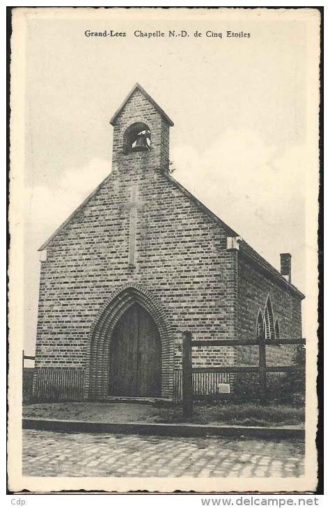 Cpsm  Grand Leez   Chapelle - Eghezée