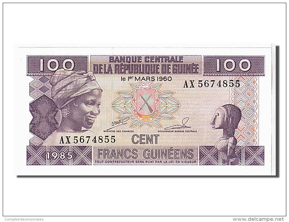 [#107408] Guinée, 100 Francs Type 1998 - Guinée