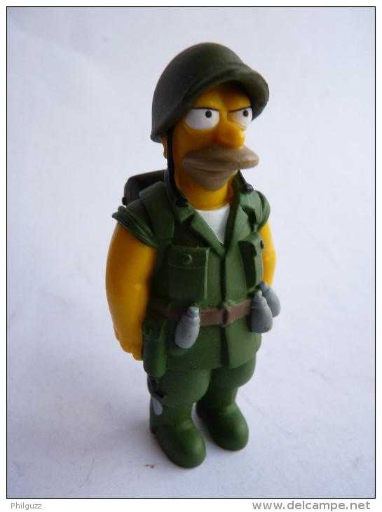 FIGURINE SIMPSON - UNITED LABEL 2009 - FIGHTING ABE SIMPSON - Simpsons