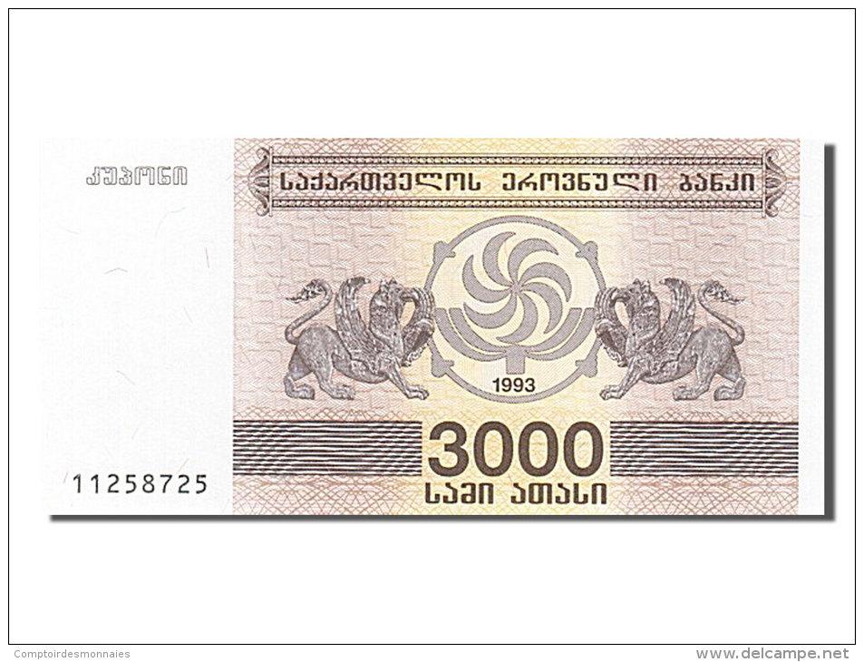 [#254266] Géorgie, 3000 Laris, Type 1993 - Géorgie