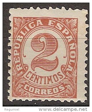 España 0678 ** Cifra. 1933. Dentado 11 1/4 - 1931-50 Nuevos & Fijasellos