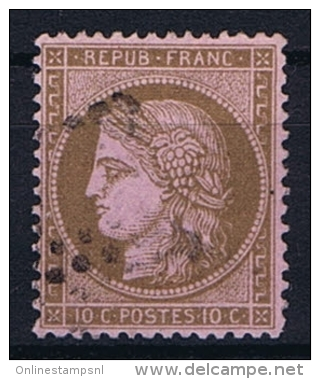 France Yv. Nr 58 Obl/used - 1871-1875 Ceres