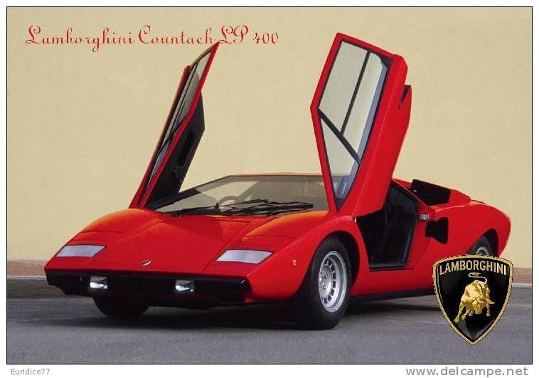 Calendar Pocket 2013 - Lamborghini Cars (collection Of 16 Differents) - Calendarios