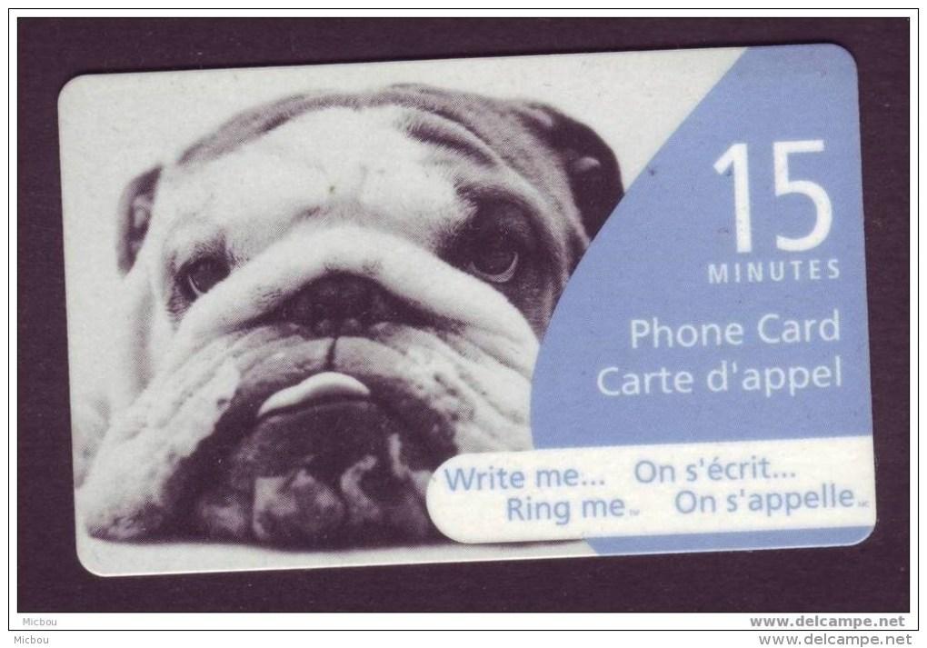 Canada, 2005, Télécarte, Chien, Dog - Hunde