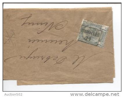 TP 53 Roulette Bruxelles 1901 S/Manchon V.Nimy PR482 - Rollo De Sellos 1900-09