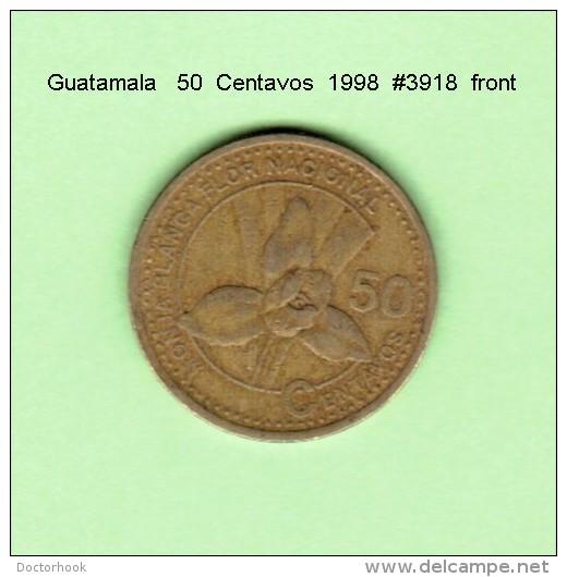 GUATAMALA    50  CENTAVOS  1998   (KM # 283) - Guatemala
