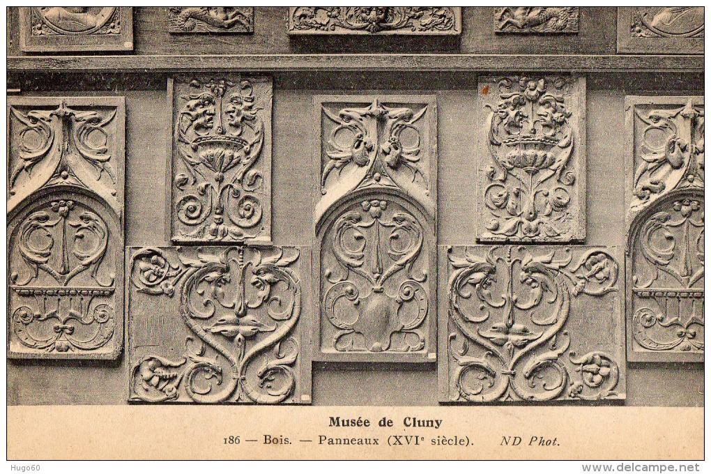 Musée De Cluny - Bois - Panneaux ( XVIe Siècle ) - Musées