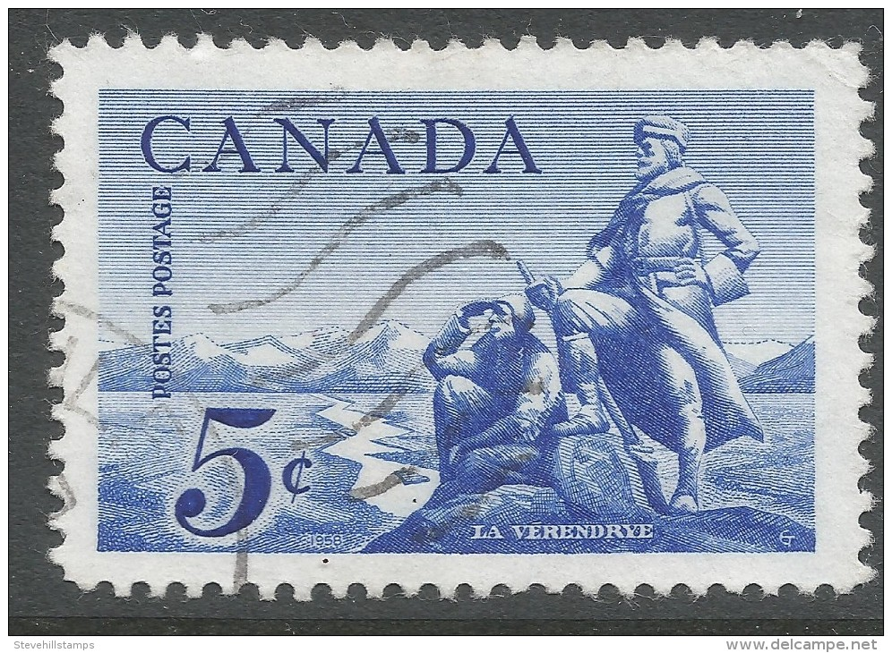 Canada. 1958 La Verendrye Commemoration. 5c Used - 1952-.... Reign Of Elizabeth II