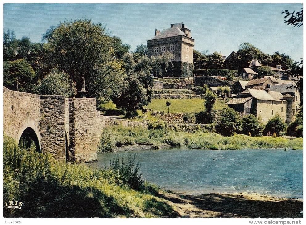 Laissac = Chateau Et Pont De Montrozier - Autres Communes