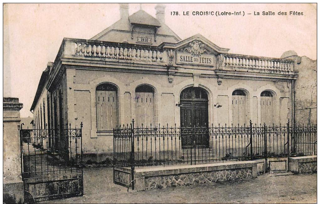 LE CROISIC - LA SALLE DES FÊTES - Le Croisic