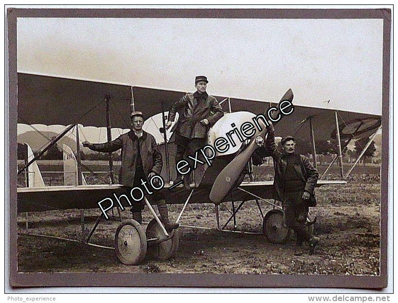 Photo Guerre 14-18 Militaire Avion CAUDRON Aviation Airplane Military WW1 - Krieg, Militär