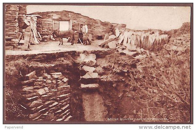 Dorset   LANGTON MATHAVERS  Stone Quarry   D214 - England