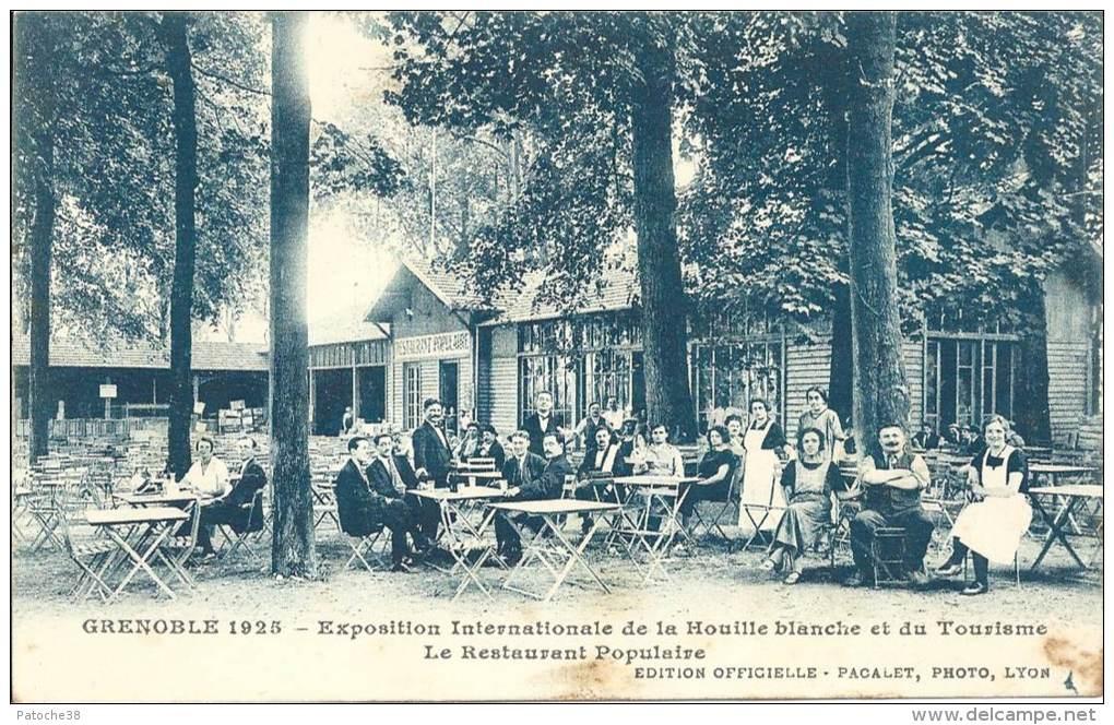 38 - GRENOBLE - Isère - Exposition Internationale De La Houille Blanche Et Du Tourisme - Le Restaurant Populaire - Grenoble