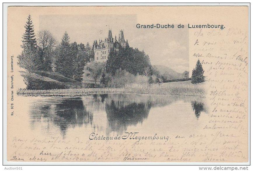 17420g LUXEMBOURG - Château De  MEYSEMBOURG - 1901 - Larochette