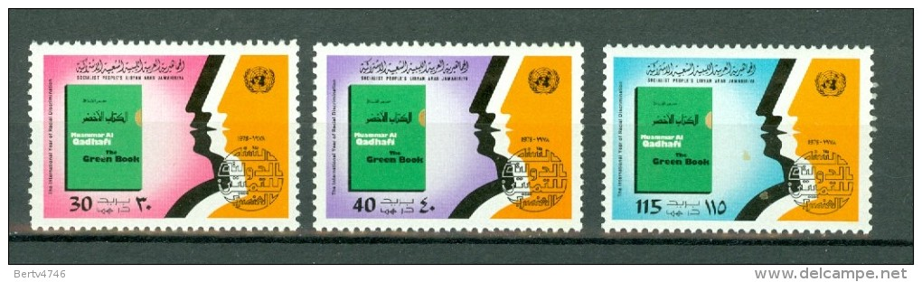 Libië 1978 MNH International Anti Apartheid Year Green Book - Libyen