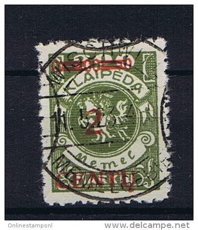 Deutsche Reich: Memel Michel  167 Used - Germany