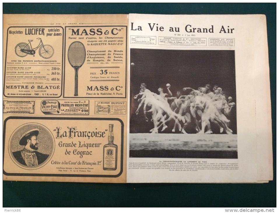 """1913 LA VIE AU GRAND AIR N° 768 Numéro Spécial  """" L'entraînement Dans Tous Les Sports """" - Journaux - Quotidiens"""