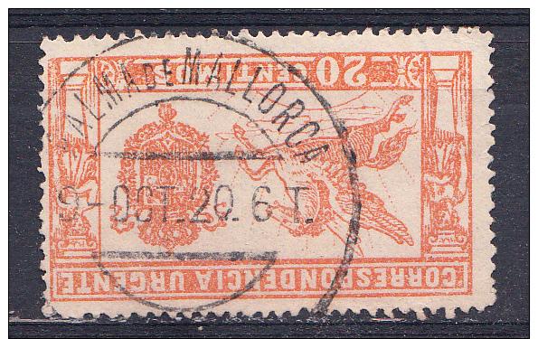 ESPAÑA 1905. URGENTE.PEGASO Nº 256. 20 CENT. BONITO MATASELLOS DE PALMA DE MALLORCA . SES 520 - Nuevos