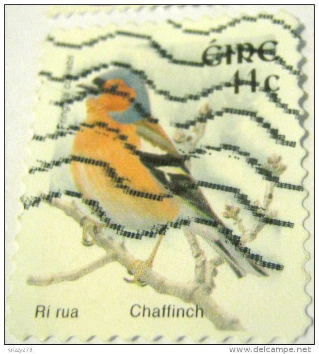 Ireland 2002 Bird Chafffinch 41c - Used - 1949-... Repubblica D'Irlanda