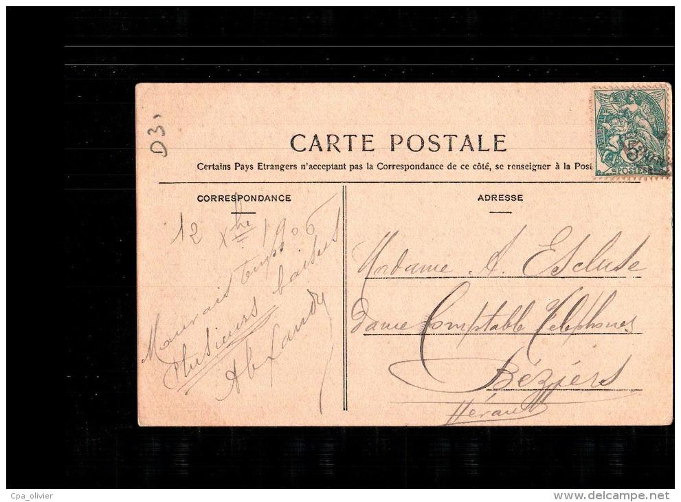 31 TOULOUSE Boulevard De Strasbourg, Animée, Tramway, Restaurant Albrighi, Colorisée, Ed Labouche 130, 1906 - Toulouse
