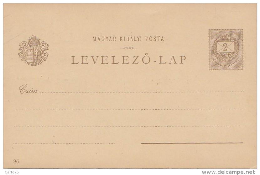 Slovaquie - Précurseur Entier Postal Hongrie -  Pozsony - Bratislava - Slovaquie