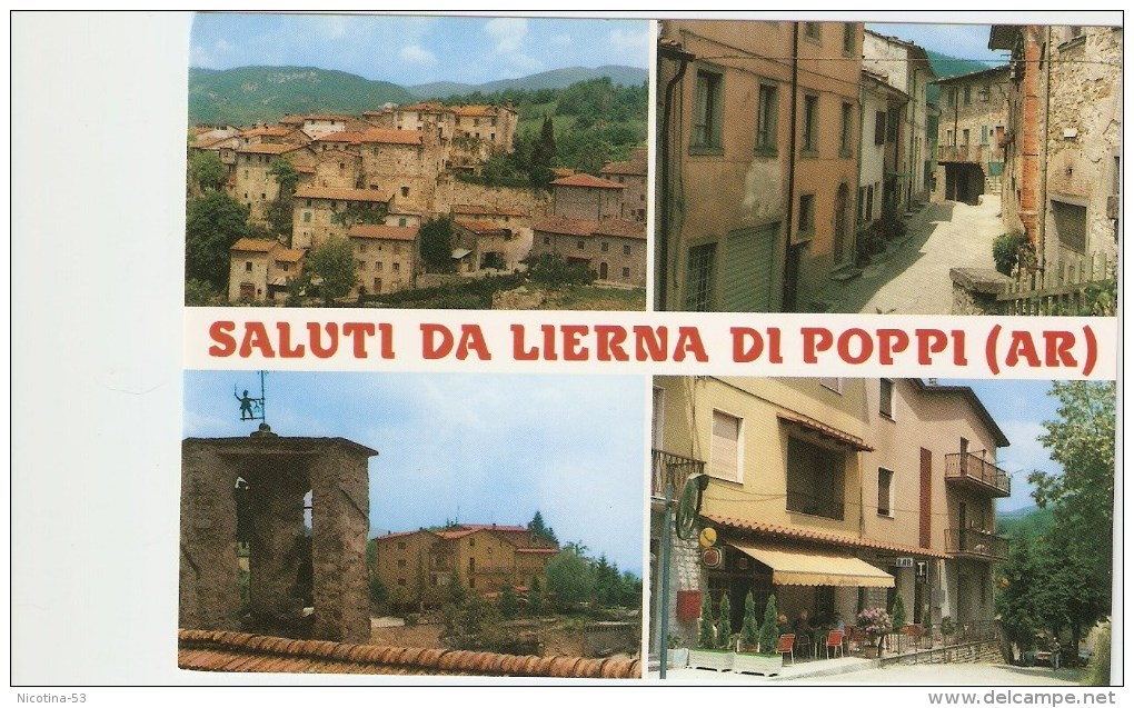 CT-N-00003 Arezzo-Saluti Da Lierna Di Poppi - Arezzo