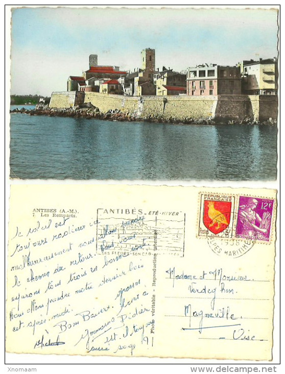 06 - ANTIBES - Les Remparts - (Laé) - Antibes