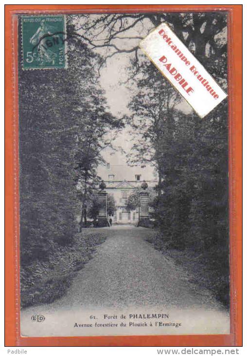 Carte Postale 59. Phalempin  Avenue Forestière Du Plouick à L'Ermitage  Trés Beau Plan - Autres Communes