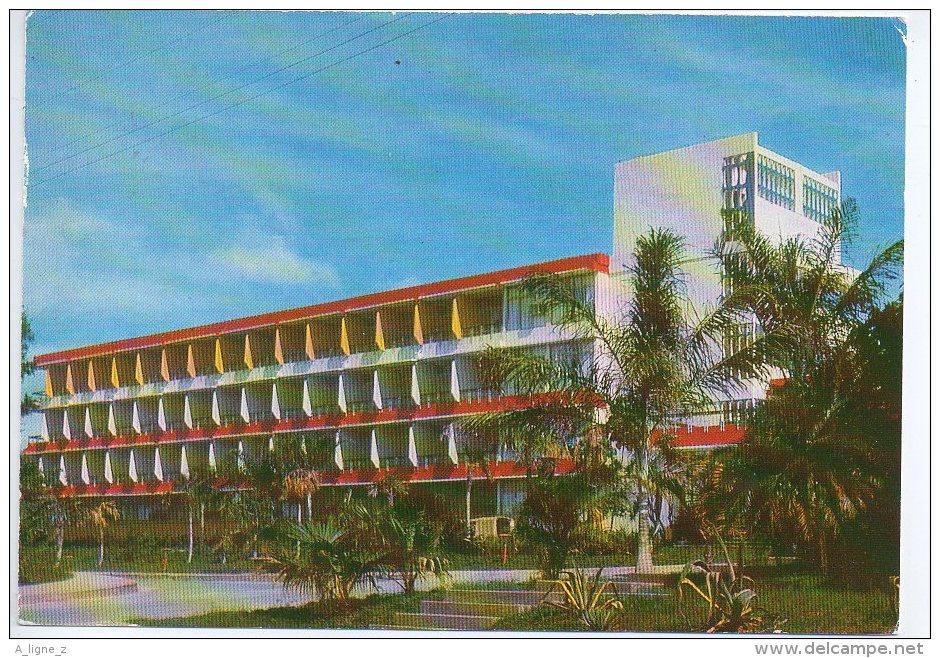 REF 168 : CPSM Cuba Hotel Los Americas Santiago De Cuba - Cuba
