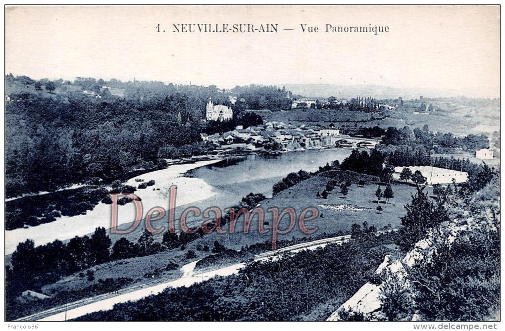 AIN (01) - Neuville Sur Ain - Vue Panoramique - Other Municipalities