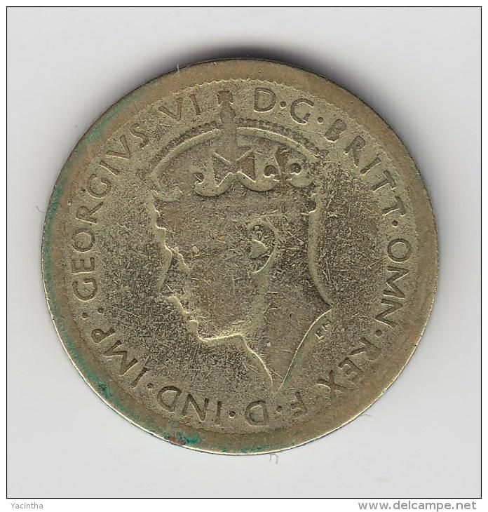 @Y@  West Afrika  6 Pence 1940  (2656) - Monnaies